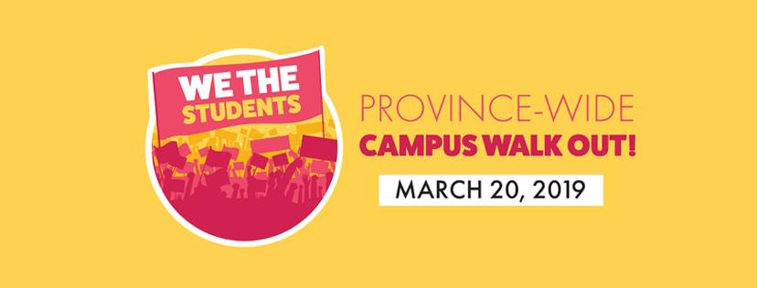University of Windsor Walkout: March 20th at Noon