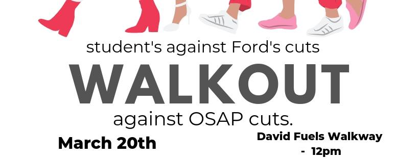 Wilfrid Laurier Brantford Campus Walkout: March 20th at Noon